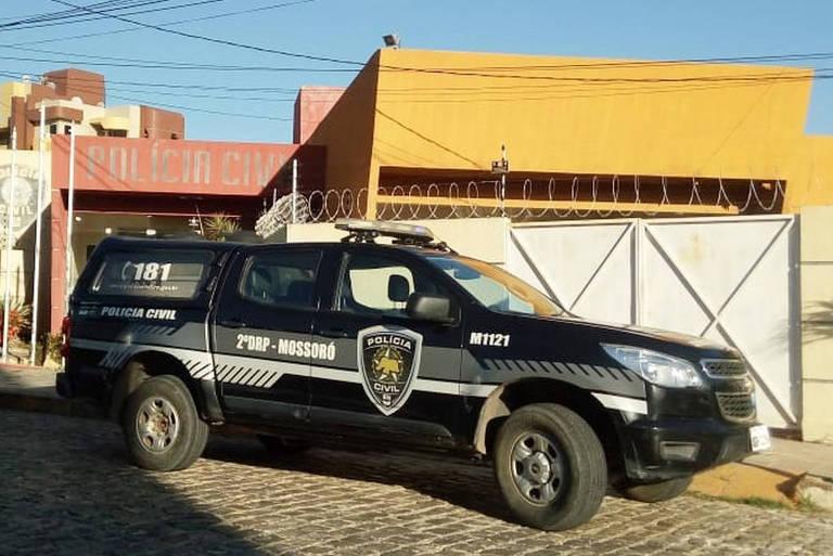 Equipe da Polícia Civil no Rio Grande do Norte