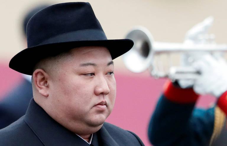 Kim Jong-un na Rússia
