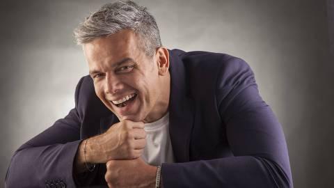 **EXCLUSIVO ILUSTRADA*** O apresentador Otaviano Costa, que comanda o
