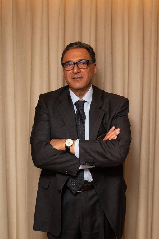 O empresário Rogerio Fasano
