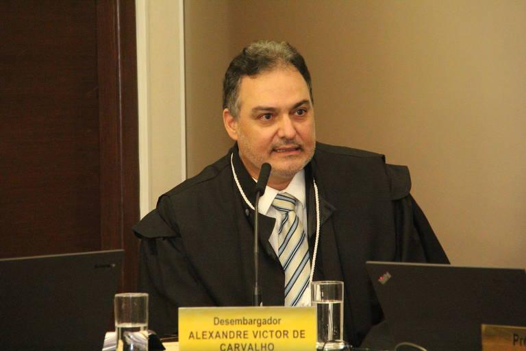 O desembargador do TJ-MG Alexandre Victor de Carvalho
