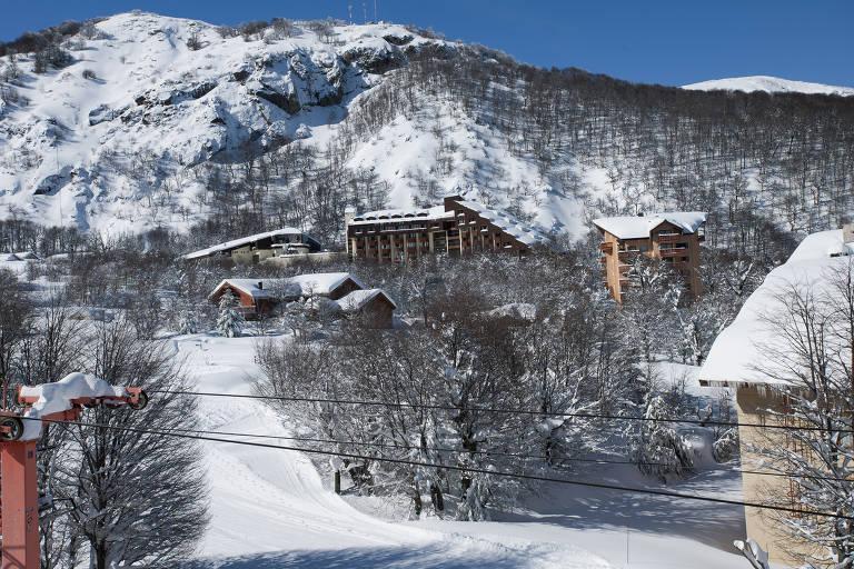 Estação de esqui de Chillán, no Chile