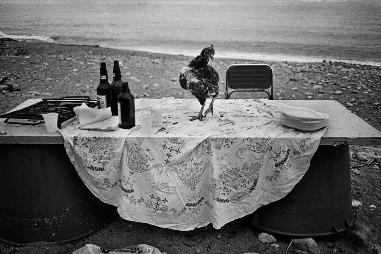 Na praia da Arenella, a festa acabou, Palermo, 1986