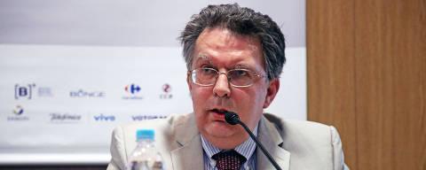 SÃO PAULO, SP, 23.abr.2019  -  O embaixador Aleksandr Schetinin, diretor para América Latina do Ministério das Relações Exteriores da Rússia, em evento na Fundação FHC.Credito:Vinicius Doti/Fundação FHC