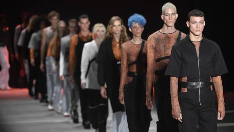 Desfile da marca Another Place na São Paulo Fashion Week