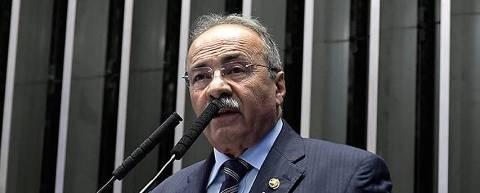 O senador Chico Rodrigues (DEM-RR), vice-líder do governo Bolsonaro