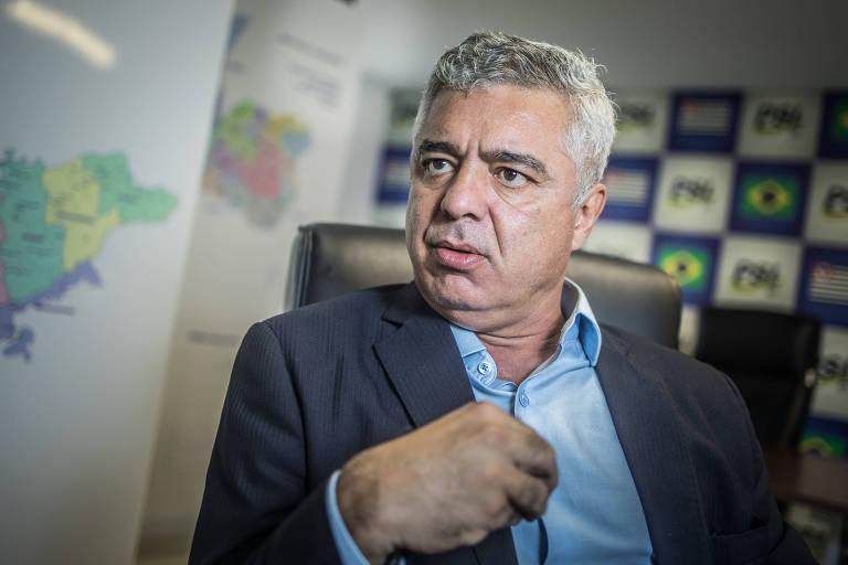 O senador Major Olímpio (PSL-SP), que deu cargo a a ex-policial condenado por tortura como forma de compensar injustiça