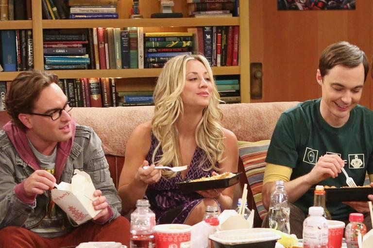 """Cena da série """"The Big Bang Theory"""""""