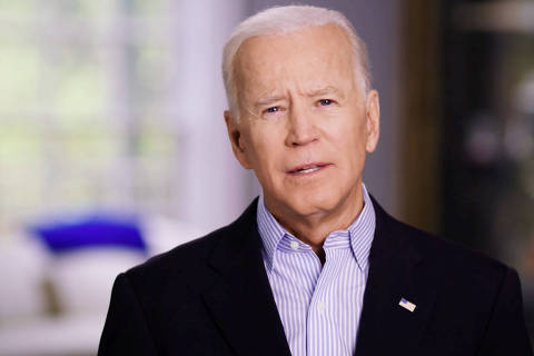 Former U.S. Vice President Joe Biden announces his candidacy for the Democratic presidential nomination in this still image taken from a video released April 25, 2019. BIDEN CAMPAIGN HANDOUT via REUTERS   ATTENTION EDITORS - THIS IMAGE HAS BEEN SUPPLIED BY A THIRD PARTY. NO RESALES. NO ARCHIVES ORG XMIT: BID001