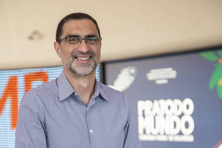 Paulo Pianez, diretor de Sustentabilidade do Carrefour, na inauguração da exposição Prato do Mundo, realizada no Museu do Amanhã, no Rio