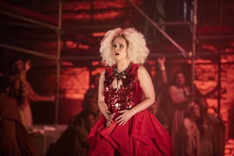 Gabriella Pace em cena de 'Clemenza di Tito'