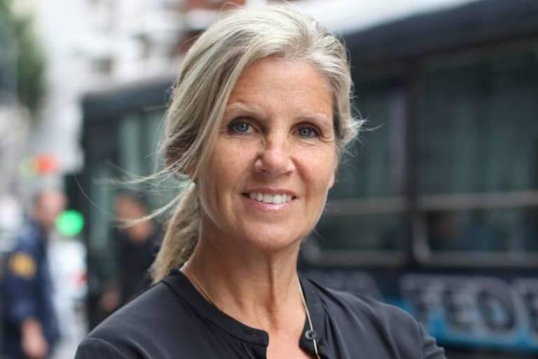 A economista e diplomata argentina Cynthia Hotton