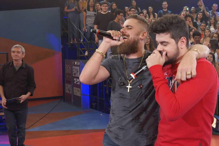 Zé Neto e Cristiano participam do Altas Horas, de Serginho Groisman