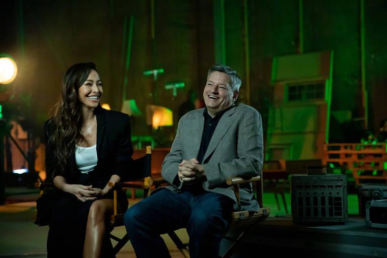 Sabrina Sato e Ted Sarandos