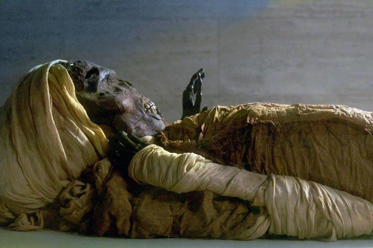 """A série """"Mummies Alive"""" está na programação do novo canal"""