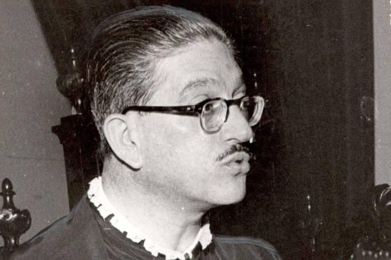 Alfredo Buzaid, reitor da Universidade de São Paulo indicado pelo Conselho Universitário. (1969-UH/Folhapress)