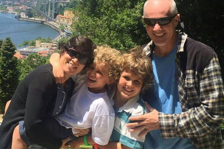 Manfred Westerich e família