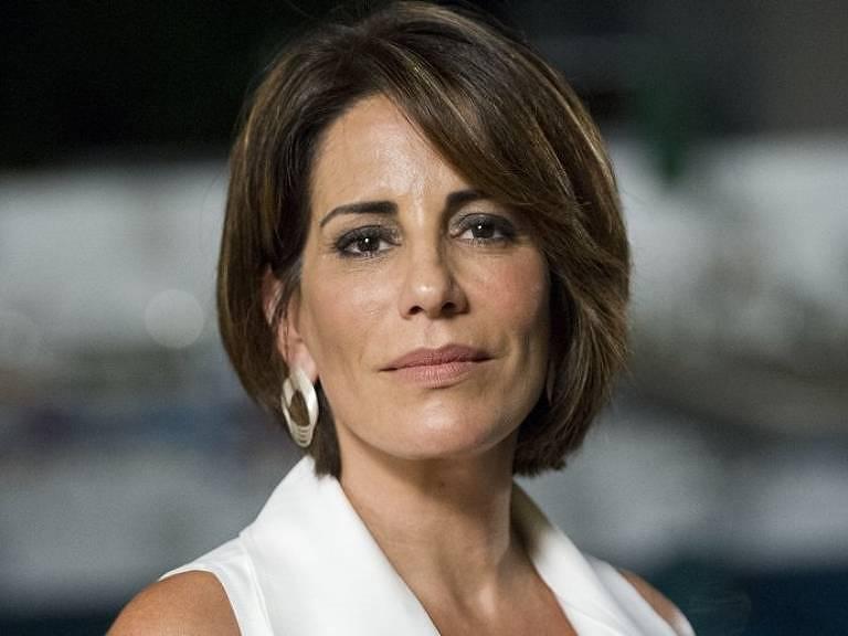 A atriz Glória Pires, presidente da associação de atores InterArtis