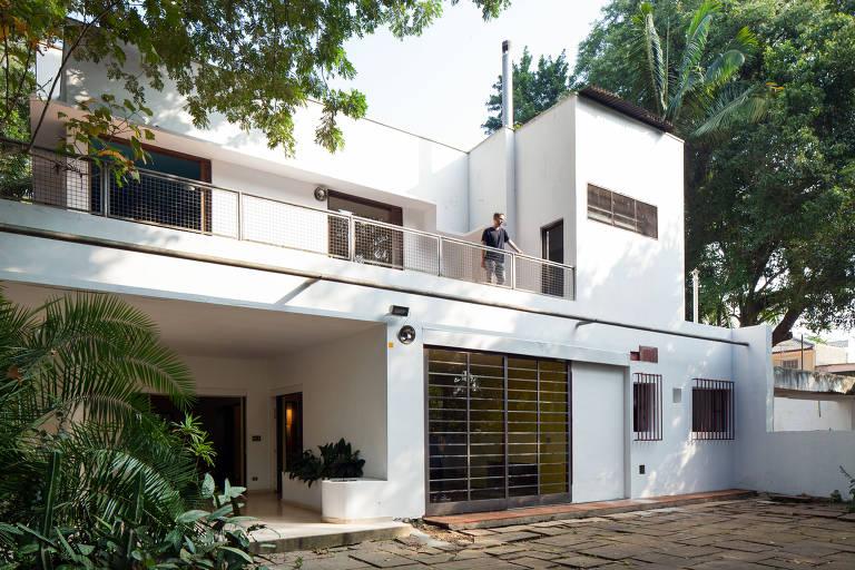 A Casa Modernista, de 1927, causava estranheza com suas linhas retas, despidas do maneirismo típico de sua época. Foto: Folhapress.