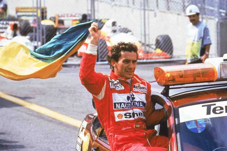 Imola homenageia Ayrton Senna
