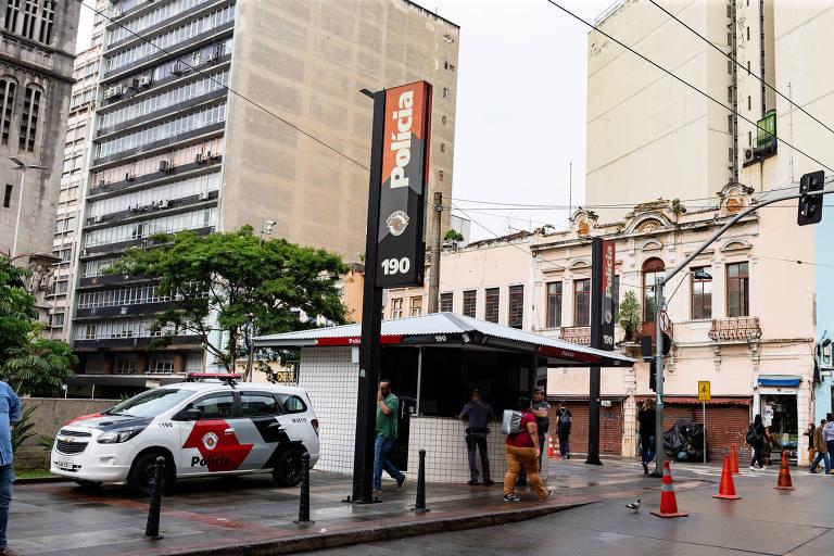 Policia Militar de São Paulo reforça policiamento capital paulista