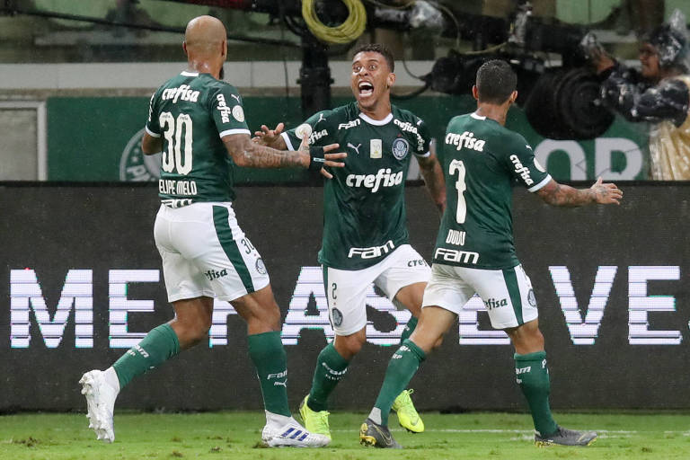 Duelo com o Atlético-MG será segundo jogo do Palmeiras sem transmissão de TV no Brasileiro