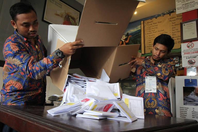Eleição na Indonésia é uma das maiores do mundo
