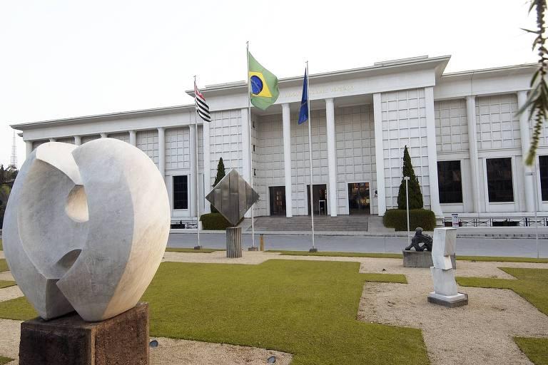 Fachada do prédio da Faap (Fundação Armando Álvares Penteado), em São Paulo