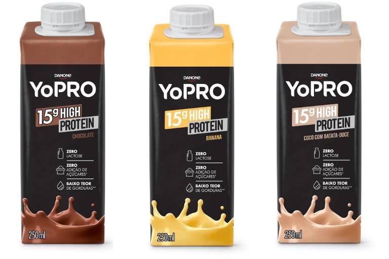 Produtos com alto teor de proteína