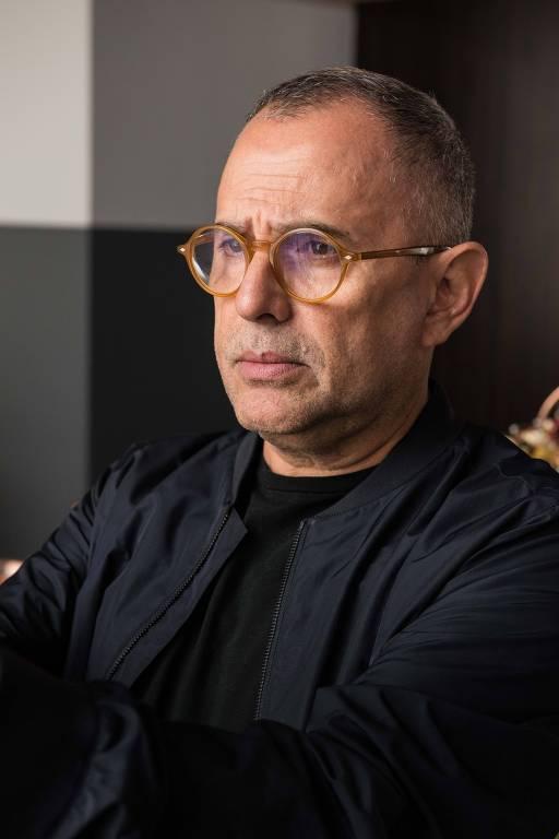 Paulo Borges, idealizador da São Paulo Fashion Week, em entrevista antes do início da semana
