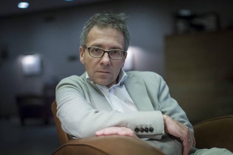 O cientista político americano Ian Bremmer, no hotel Fasano, na zona oeste de São Paulo