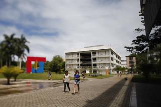 Praça das Artes no campus Ondina da Universidade Federal da Bahia (UFBA)
