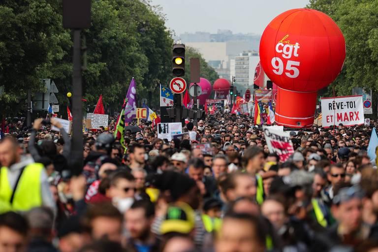 Protestos no 1º de Maio tem confrontos em Paris