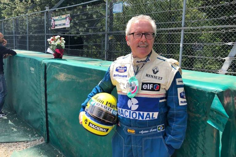 Carlo Vismara, 68, que também estava em Ímola no dia da morte de Senna
