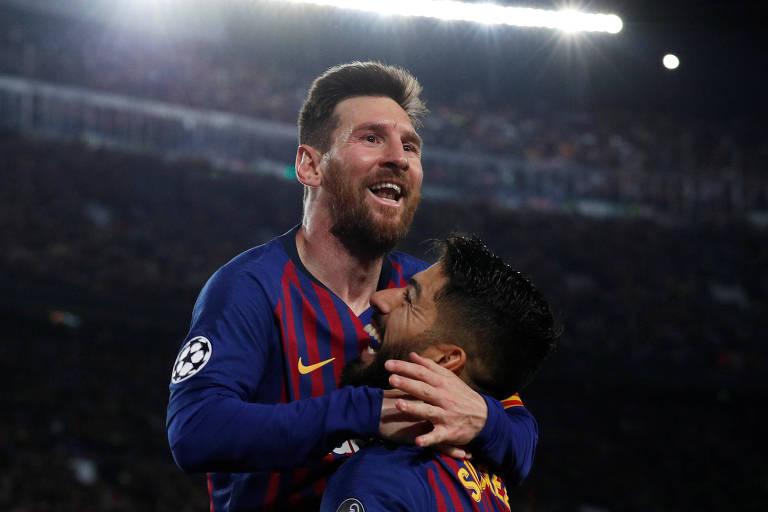 O Barcelona, de Messi e Suárez, é o atual campeão espanhol