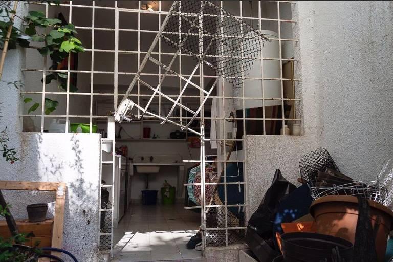 Casa de Leopoldo López destruída
