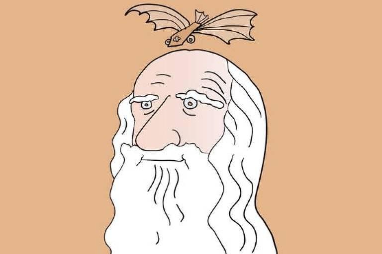 ilustração de Da Vinci