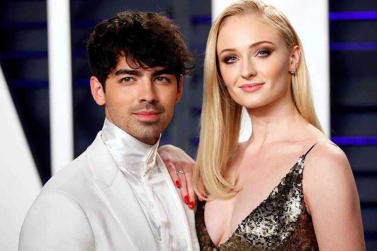 F5 - Celebridades - Joe Jonas e Sophie Turner, de 'Game of Thrones', se casam em Las Vegas - 02/05/2019