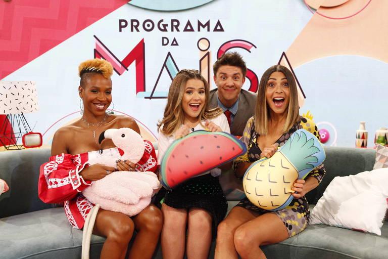 Maisa, Oscar Filho, Karol Conka  e Marlei Cevada