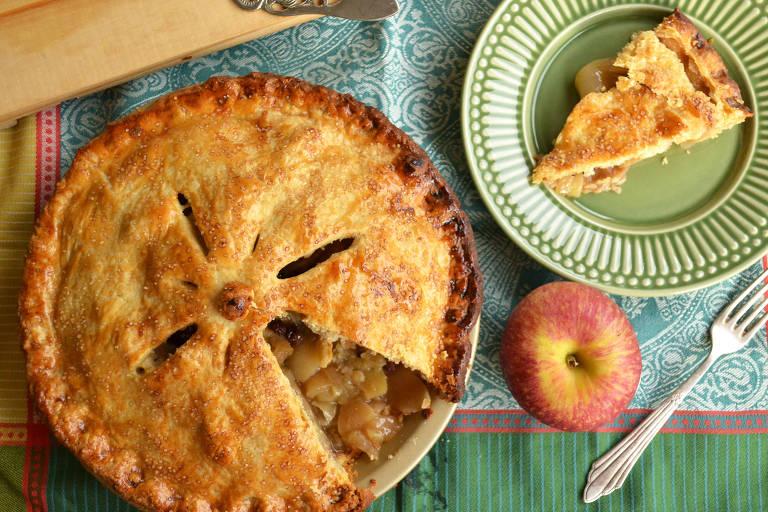 Tortas de maçã não são apenas gostosas, mas têm um sabor que abraça