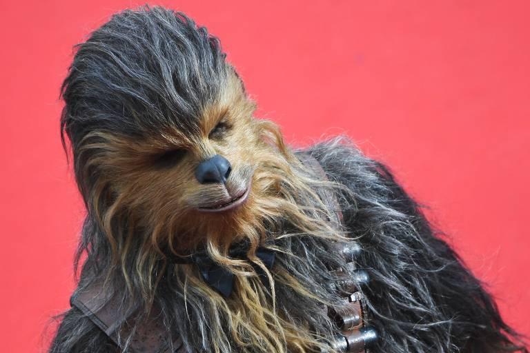 Várias faces de Chewbacca