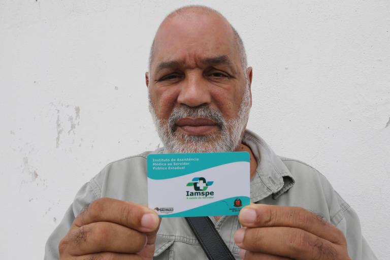 Jorge de Melo, 60 anos, diz que o Iamspe alegou não ter agulha de esclerose para realizar o procedimento e não deu previsão de quando irá receber o insumo