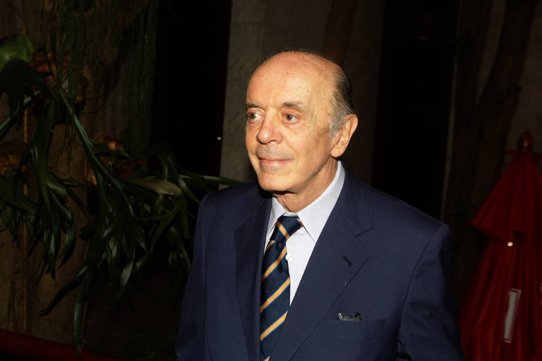 O senador José Serra