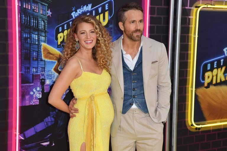 Blake Lively e Ryan Reynolds