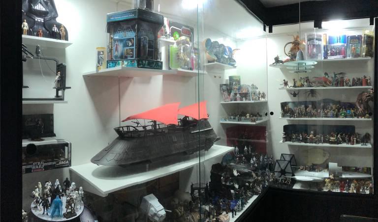 Fã de Star Wars: especialista em TI Jetur Cunha possui cerca de 4,5 mil peças em casa