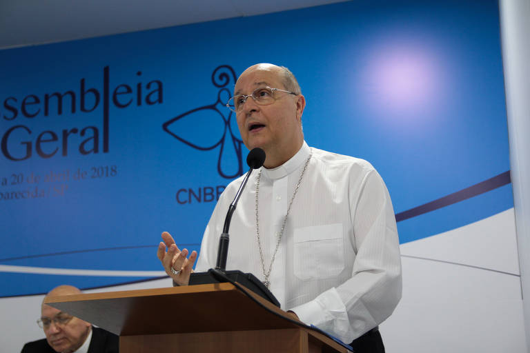 Dom Darci Nicioli, arcebispo de Diamantina (MG)