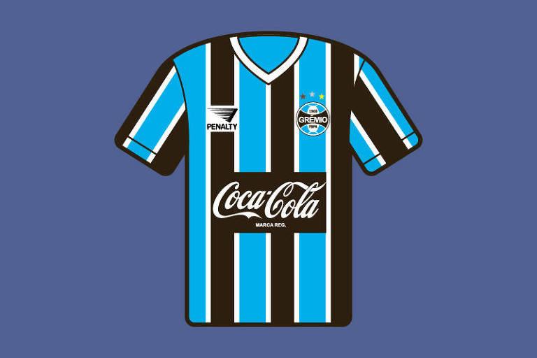 Patrocínio das camisas de futebol também teve sua 'geração Coca-Cola'