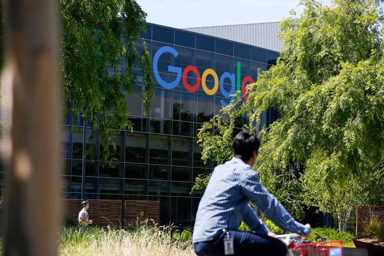 Campus principal do Google em Mountain View, na Califórnia