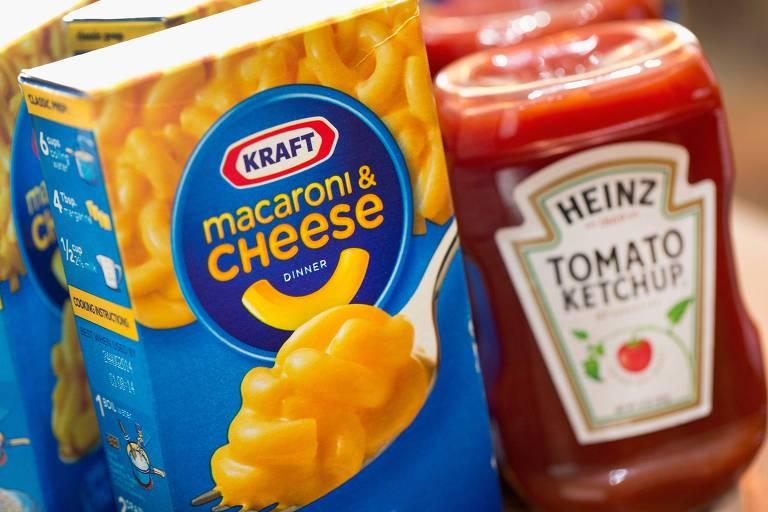Produtos da Kraft e da Heinz