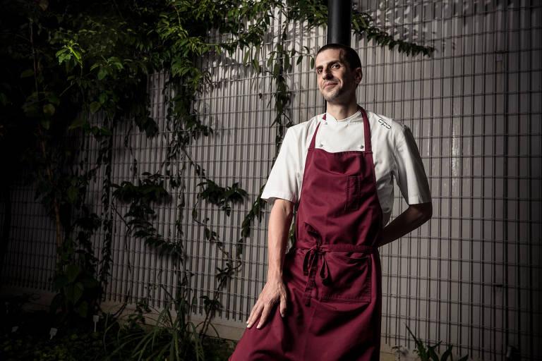 O chef Ivan Ralston, que abriu o Tujuína em setembro